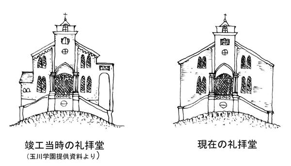 建物雑想記 玉川学園礼拝堂