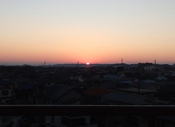 日野台ハイツの日ノ出2014