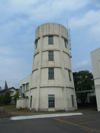建物雑想記 立川航空機給水塔