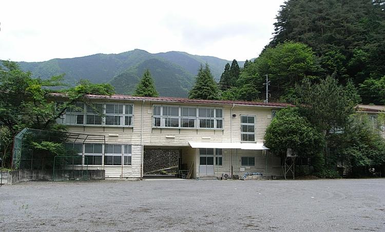 建物雑想記 旧小河内小学校