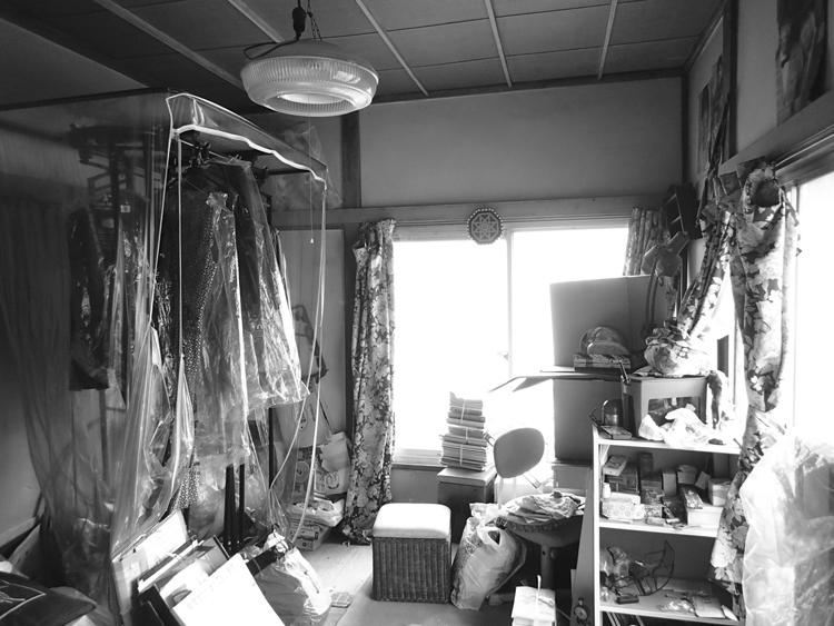 リフォーム前:寝室コーナーになる部屋