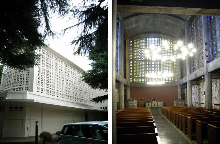 東京女子大学礼拝堂