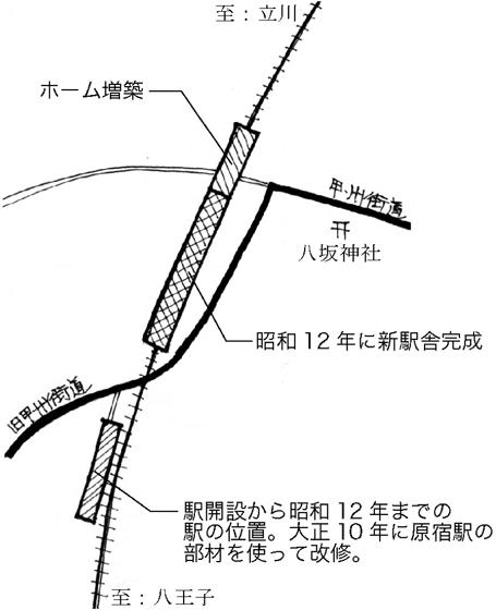 建物雑想記 日野駅舎の変遷