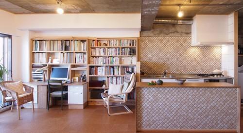 日野の家3/自然素材のマンションリノベーション