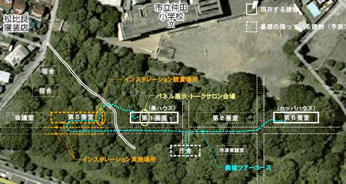 仲田の森 旧蚕糸試験場 2009