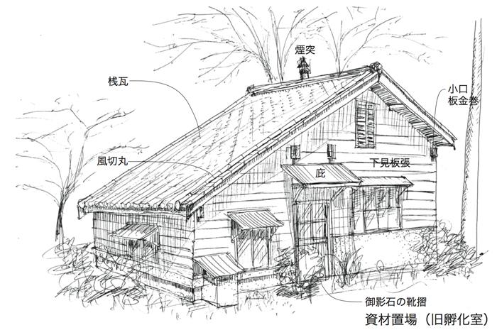 建物雑想記 東大農場 旧孵化室