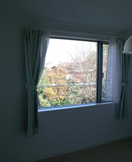 3階北側窓からの景色